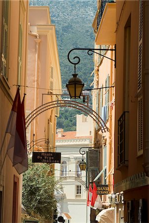 Old Town, Monaco-Veille, Monaco, Europe Stock Photo - Rights-Managed, Code: 841-03031449
