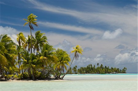 french polynesia - Blue Lagoon, Rangiroa, Tuamotu Archipelago, French Polynesia, Pacific Islands, Pacific Stock Photo - Rights-Managed, Code: 841-03058294