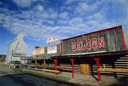 saloon - Saloon exterior, Reedpoint, Stillwater County, Montana, United States of America, North America Stock Photo - Rights-Managed, Code: 841-03067615