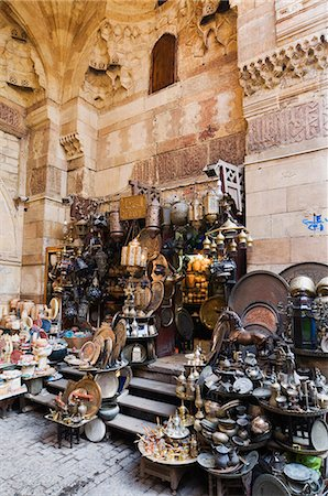 The Bazaar, Khan Al-Khalili district, Cairo, Egypt, North Africa, Africa Stock Photo - Rights-Managed, Code: 841-03062457