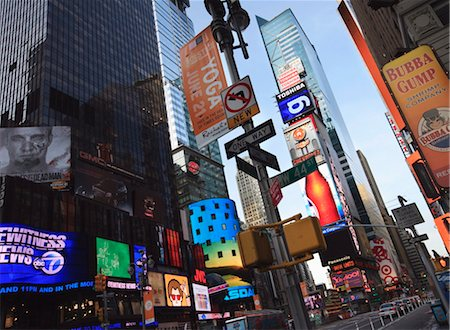 poster - Times Square, Manhattan, New York City, New York, United States of America, North America Stock Photo - Rights-Managed, Code: 841-03454379
