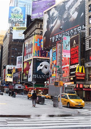 poster - Times Square, Midtown, Manhattan, New York City, New York, United States of America, North America Stock Photo - Rights-Managed, Code: 841-03454437