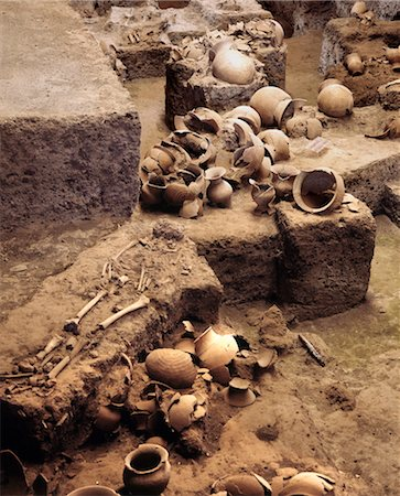 prehistoric - Excavation of the prehistoric site of Ban Chiang, Thailand, Southeast Asia, Asia Stock Photo - Rights-Managed, Code: 841-03489542