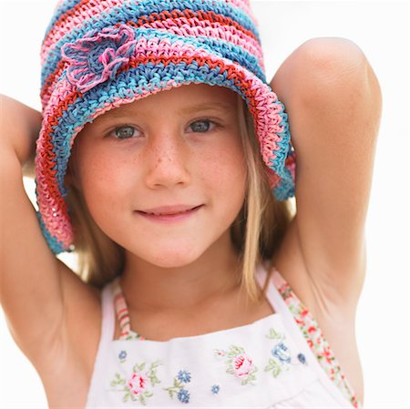 Girl (6-8) outdoors Stock Photo - Rights-Managed, Code: 841-03507726