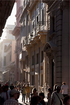 Calle Obispo, Havana, Cuba, West Indies, Central America Stock Photo - Rights-Managed, Code: 841-03507904