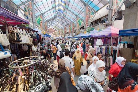 Market in Little India, Kuala Lumpur, Malaysia, Southeast Asia, Asia Stock Photo - Rights-Managed, Code: 841-03517327