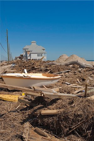 sailing boat storm - Hurricane damage, Galveston, Texas, United States of America, North America Stock Photo - Rights-Managed, Code: 841-03518446