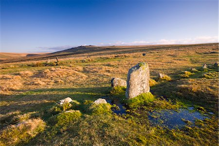 simsearch:845-03720933,k - Merrivale Stone Rows form part of a megalithic Bronze Age complex, Dartmoor National Park, Devon, England, United Kingdom, Europe Stock Photo - Rights-Managed, Code: 841-03518689