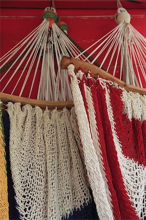 Hammocks, San Juan del Sur, Nicaragua, Central America Stock Photo - Rights-Managed, Code: 841-03675498