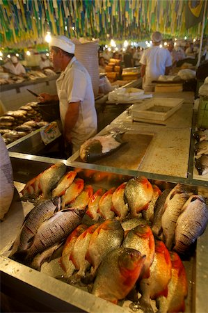 piranha fish - Piranhas at the central market of Manaus, Brazil, South America Stock Photo - Rights-Managed, Code: 841-03676077