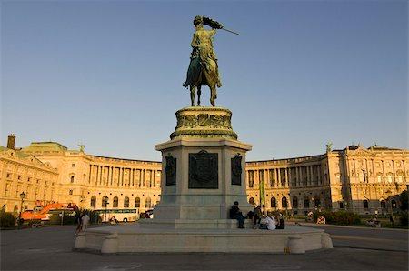 The Hofburg Palace on the Heldenplatz, Vienna, Austria, Europe Stock Photo - Rights-Managed, Code: 841-03676112