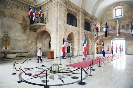 Pantheon Nacional, UNESCO World Heritage Site, Santo Domingo, Dominican Republic, West Indies, Caribbean, Central America Stock Photo - Rights-Managed, Code: 841-03672889