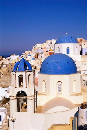 Oia (Ia), island of Santorini (Thira), Cyclades Islands, Aegean, Greek Islands, Greece, Europe Stock Photo - Rights-Managed, Code: 841-03673216