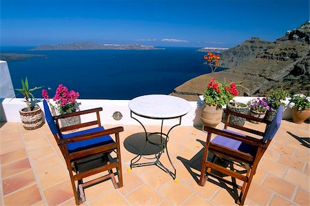 Fira, island of Santorini (Thira), Cyclades Islands, Aegean, Greek Islands, Greece, Europe Stock Photo - Rights-Managed, Code: 841-03673234