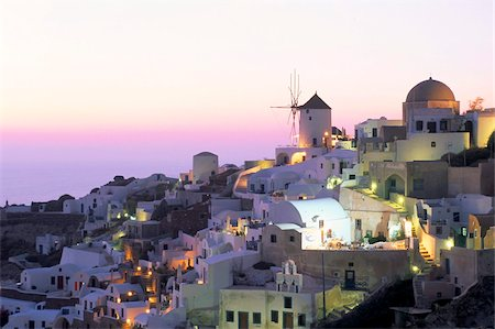 Oia (Ia), island of Santorini (Thira), Cyclades Islands,Aegean, Greek Islands, Greece, Europe Stock Photo - Rights-Managed, Code: 841-03673236