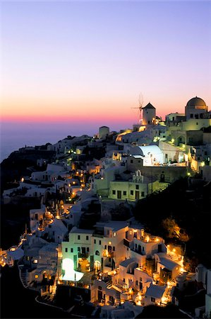 Oia (Ia), island of Santorini (Thira), Cyclades Islands,Aegean, Greek Islands, Greece, Europe Stock Photo - Rights-Managed, Code: 841-03673237