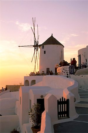Oia (Ia), island of Santorini (Thira), Cyclades Islands, Aegean, Greek Islands, Greece, Europe Stock Photo - Rights-Managed, Code: 841-03673260