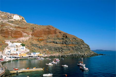Oia (Ia), island of Santorini (Thira), Cyclades Islands, Aegean, Greek Islands, Greece, Europe Stock Photo - Rights-Managed, Code: 841-03673276
