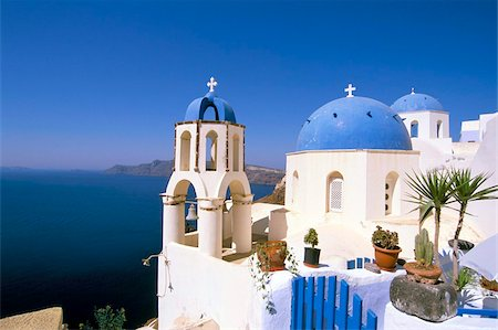 Oia (Ia), island of Santorini (Thira), Cyclades Islands, Aegean, Greek Islands, Greece, Europe Stock Photo - Rights-Managed, Code: 841-03673288