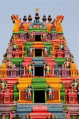 Hindu temple gopuram, Haridwar, Uttarakhand, India, Asia Stock Photo - Rights-Managed, Code: 841-03870670