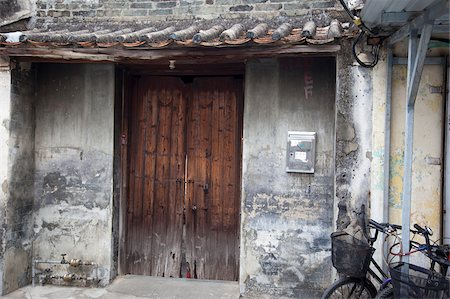 An old house at village, Kam Tin, New Territories, Hong Kong Stock Photo - Rights-Managed, Code: 855-05984195