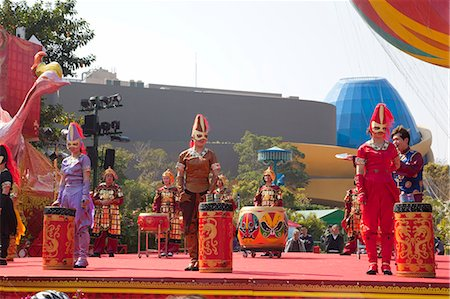 stage show - A chinese legendary show, Ocean Park, Hong Kong Stock Photo - Rights-Managed, Code: 855-06313786