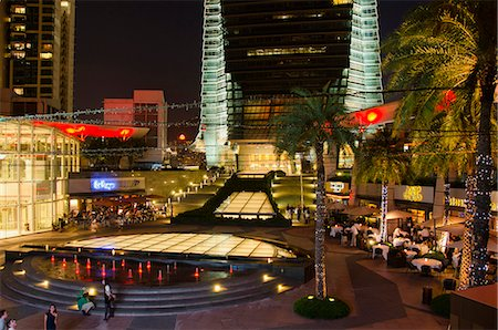 element - Civic Square at night, Kowloon west, Hong Kong Stock Photo - Rights-Managed, Code: 855-06339142