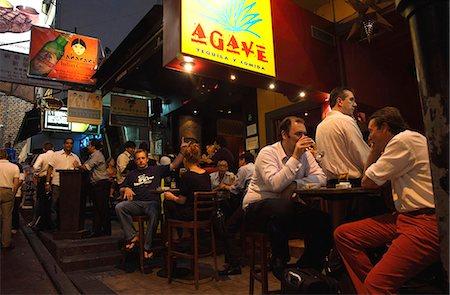Nightlife at Lan Kwai Fong, Central, Hong Kong Stock Photo - Rights-Managed, Code: 855-06339357