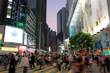 places - Busy Causeway Bay, Hong Kong Stock Photo - Rights-Managed, Code: 855-06339389