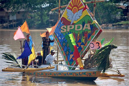 pictures philippine festivals philippines - Fluvial parade Stock Photo - Rights-Managed, Code: 855-02987156