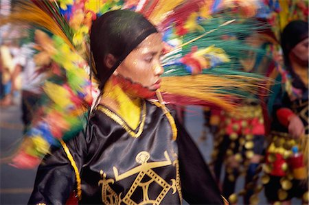 pictures philippine festivals philippines - Kadayawan Festival dancers Stock Photo - Rights-Managed, Code: 855-02987151