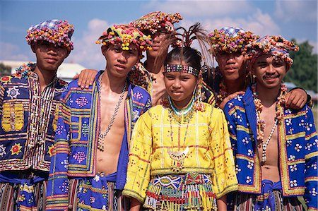 pictures philippine festivals philippines - Bogobo Tribespeople Stock Photo - Rights-Managed, Code: 855-02987152