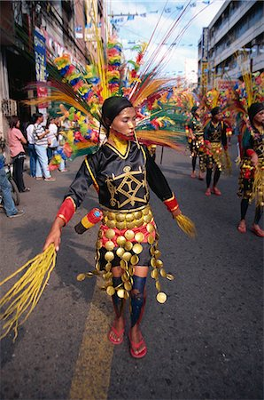 pictures philippine festivals philippines - Kadayawan Festival Dancers Stock Photo - Rights-Managed, Code: 855-02987178