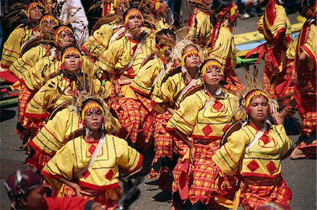 pictures philippine festivals philippines - Bogobo Tribesmen Stock Photo - Rights-Managed, Code: 855-02987188