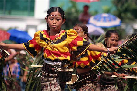 pictures philippine festivals philippines - Kadayawan Festival Dancers Stock Photo - Rights-Managed, Code: 855-02987183
