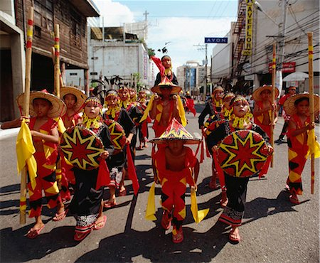 pictures philippine festivals philippines - Kadayawan Street dancers Stock Photo - Rights-Managed, Code: 855-02987231