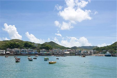 Yung Shu Wan,Lamma Island,Hong Kong Stock Photo - Rights-Managed, Code: 855-03024107