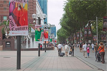 Orchard Road,Singapore Stock Photo - Rights-Managed, Code: 855-03025349