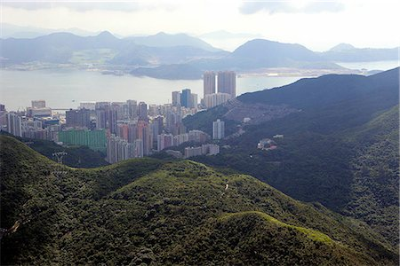 Aerial view over Chai Wan & Siu Sai Wan,Hong Kong Stock Photo - Rights-Managed, Code: 855-03026679