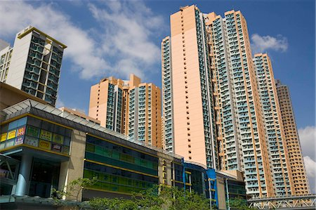 Housing in Shaukeiwan,Hong Kong Stock Photo - Rights-Managed, Code: 855-03023925