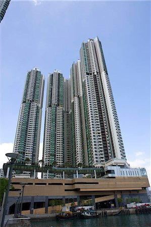 Deluxe apartment 'Grand Promenade',Shaukeiwan,Hong Kong Stock Photo - Rights-Managed, Code: 855-03023931
