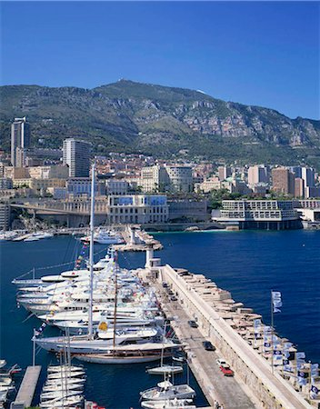 Monaco, France Stock Photo - Rights-Managed, Code: 855-03254858
