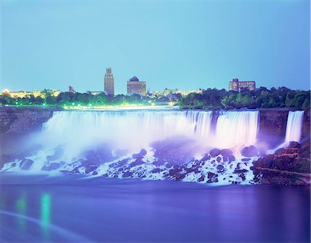Niagara Falls, Ontario, Canada Stock Photo - Rights-Managed, Code: 855-03254896