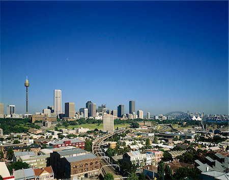 Cityscape, Sydney, Australia Stock Photo - Rights-Managed, Code: 855-03255240