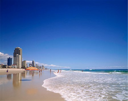 queensland - Gold Coast resort, Australia Stock Photo - Rights-Managed, Code: 855-03255255