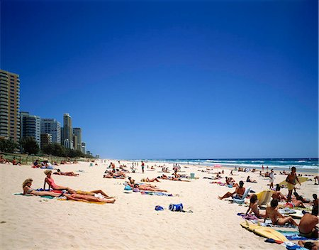 Gold Coast resort, Australia Stock Photo - Rights-Managed, Code: 855-03255256