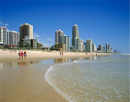 queensland - Gold Coast resort, Australia Stock Photo - Rights-Managed, Code: 855-03255257