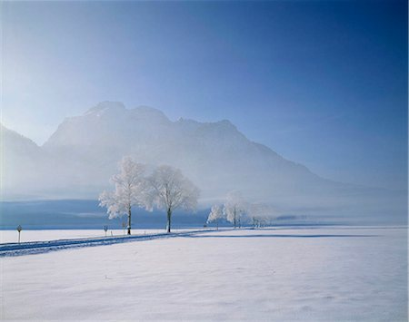 small town snow - Bavaria in snow, Germany Stock Photo - Rights-Managed, Code: 855-03255323