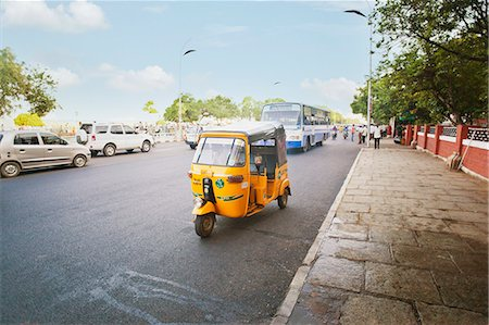 Traffic on the road, Chennai, Tamil Nadu, India Stock Photo - Rights-Managed, Code: 857-06721699