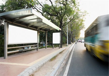 Bus moving on the road, New Delhi, India Stock Photo - Rights-Managed, Code: 857-03554081
